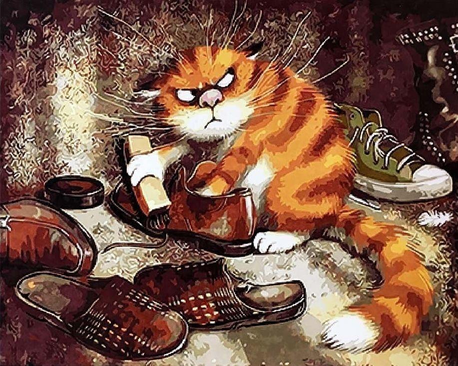 GX 3221 Недовольный кот