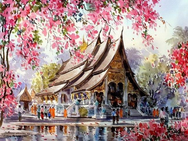 GX 22960 Тайский храм
